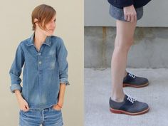 seeing a lot of denim on denim lately