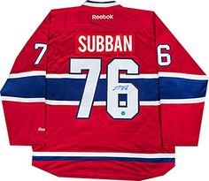 Canadiens Autographed Jersey