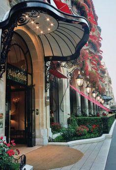 Parisian Oasis: Hotel Plaza Athénéé and The Dior Institut