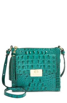 Free shipping and returns on Brahmin 'Melbourne - Mimosa' Crossbody Bag at Nordstrom.com. A compact crossbody bag features iconic croc embossing and logo-engraved goldtone hardware for a bold, signature look.