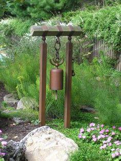 Japanese bell for side yard