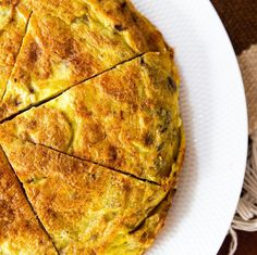 Australian Accent, Spanish Omelette, Fusion Food, Quiche, Food Photography, Spain, Food Porn, Greek, Pizza