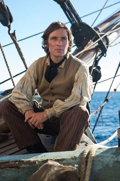 Cillian Murphy playing Matthew Joy In the Heart of the Sea 2015 💙 Cillian Murphy Movies, Cillian Murphy Peaky Blinders, Murphy Actor, Cartoon Tv Shows, Pirate Life, Most Beautiful Man, In The Heart, Thriller, New England