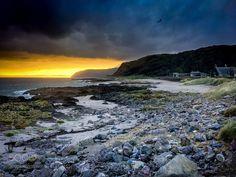 Keil beach at sunset by WeAreBrandfire