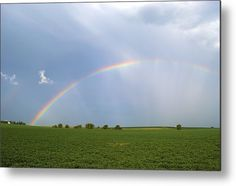 #Over The #Rainbow Metal Print By Bonfire #Photography