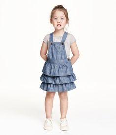 H&M Bib Overall Dress $17.99