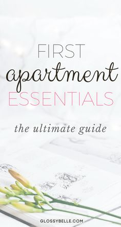 If you're about to move out into your first apartment, here are the most important apartment essentials you'll need to be ready to move out on your own. adulting | move out for the first time | moving out | independence