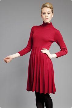 JumperFabriken High Neck Dress, Dresses, Fashion, Turtleneck Dress, Vestidos, Moda, Fashion Styles, Dress, Fashion Illustrations