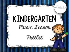 Looking for a fun, engaging lesson for Kindergarten? This freebie is a sample from my Kindergarten Music Lessons set. In the lesson, students practice fast/slow and prepare beat; songs, chants, and materials are included! Kindergarten Music Lessons, Music Lessons For Kids, Kindergarten Freebies, Music Lesson Plans, Preschool Music, Kindergarten First Day, Music Activities, Teaching Kindergarten, Teaching Music