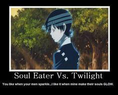Soul eater always wins always! I love u death the kid! <3 <3 <3