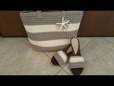 Borsa Itaca a Punto Sery - Crochet bag - YouTube