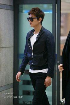 Lee Min Ho - Back to South Korea (06.03.2013)