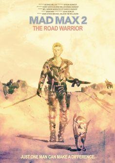 Mad Max 2: The Road Warrior by Tony Stella