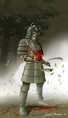 Bloody Samurai by tonton-jojo on DeviantArt