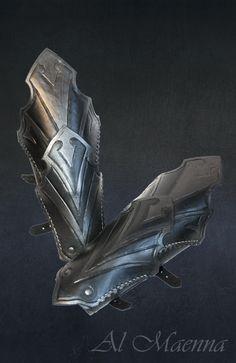 Dark Elven Armor Bracers by Shattan