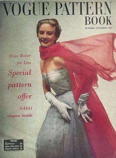 Vogue Pattern Book, October-November 1953