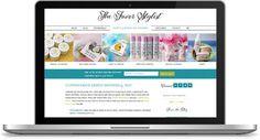 The Favor Stylist Custom WordPress Design + Development  http://thefavorstylist.com/