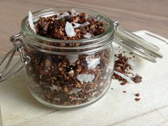 Gezonde glutenvrije granola ♥ Foodness - good food, top products, great health
