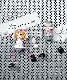 Bendable Comical Bride Magnets