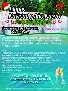 Chiapas en Navidad y Año Nuevo