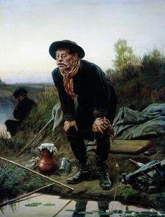 Василий Перов Рыболов 1871 г