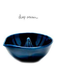 LUST.  Porcelain Citrus Juicer