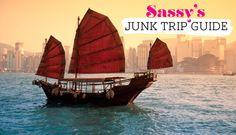 Junk Trip Guide #boozecruise #hongkong