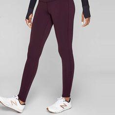 Rank & Style - Athleta Polartec Power Stretch Tight #rankandstyle