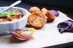 Rosmarin Bratkartoffel mit Gemüse