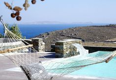Tinos Greece, Mykonos, Outdoor Furniture, Outdoor Decor, Summer 2016, Hammock, Bliss, Villa, Happiness