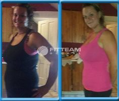 """""""Lost 5 lbs in six days. I am very happy with the results and the energy is unbelievable. Ty FITTEAM this is life-changing!"""" -Amy Konkel  #fitteam #fitteamglobal #energy #weightloss"""