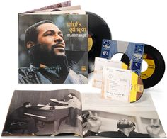 40th anniversary reissue of the Marvin Gaye 'What's Going On' album...another item on my wishlist!