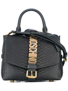 MOSCHINO  letters buckle shoulder bag  £1,070.00