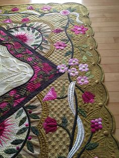 Beautiful appliqué and quilting