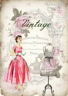 I love these vintage style prints Decoupage Vintage, Vintage Abbildungen, Images Vintage, Decoupage Paper, Vintage Labels, Vintage Ephemera, Vintage Pictures, Vintage Cards, Vintage Paper