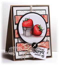 So Berry Sweet | deconstructing jen | handmade cards and tutorialsdeconstructing jen | handmade cards and tutorials