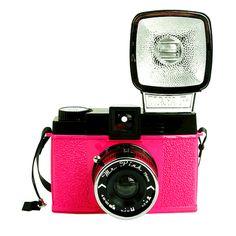 pink diana camera