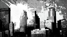 Pop City 29 Digital Art by Melissa Smith