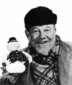 Burl Ives...Have  a Holly Jolly Christmas <3