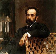 Portrait of Isaac Levitan (landscape painter) By Valentin  Alexandrovich Serov