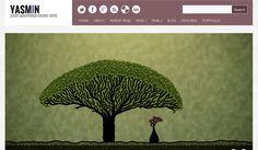 Yasmin  80 Premium Like Yet Absolutely Free WordPress Themes 2012 Edition