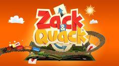 Styleframes proposal for Zack & Quack TV Show. Typography Logo, Logos, Game Font, Game Ui, Game Logo Design, Event Logo, Cute Games, Game Character Design, Kids Logo