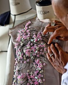 #Dior ~ Haute Couture embroidery for a floral embellished dress| Christian #Dior https://www.pinterest.com/olgatoptour/dior-watch https://www.pinterest.com/olgatoptour/dior-wallpaper https://www.pinterest.com/olgatoptour/dior-sunglasses Hey @janerra92, @staceyann86, @janeenbaur31, @jenny59600242! What are you thinking about this #DIOR pin?