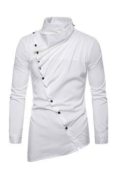 Nigerian Men Fashion, Indian Men Fashion, Mens Fashion Wear, Mens Designer Shirts, Designer Suits For Men, Designer Clothes For Men, Cool Shirts For Men, Stylish Shirts, Casual Shirts