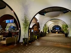 Inside TK's business lounge, Atatürk airport