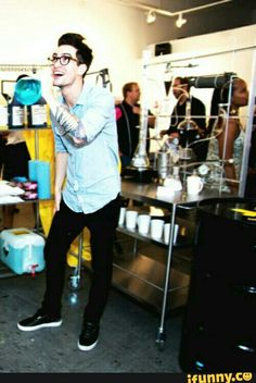 Brendon just being Brendon
