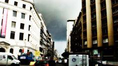 Barcelona, Spain: A rainy/stormy day