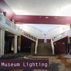 Museum Lighting Design - Architectural Lighting Consultancy Design by London Lighting Designer. #lightingdesign #museum #lightingconsultant
