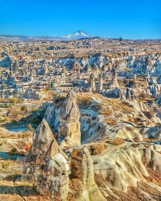 Majestic view of Cappadocia  courtesy of @srknaydogan. Tag someone to explore the world with! by beautifuldestinations