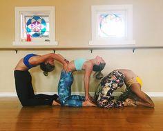 Fun variations at the Maui Yoga Shala - Paia!